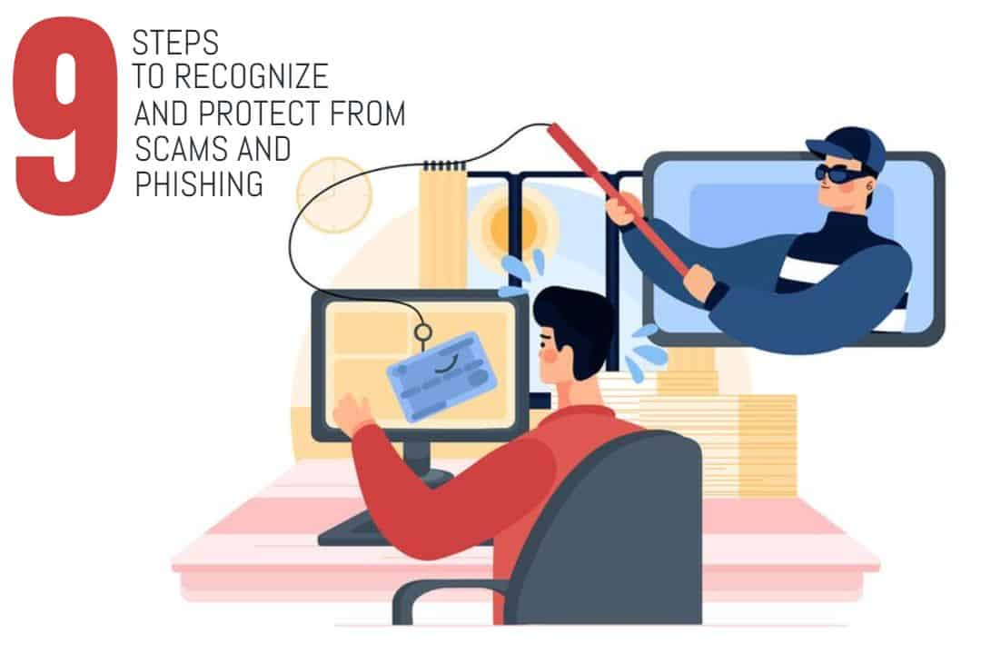 Protect from Scam and Phishing